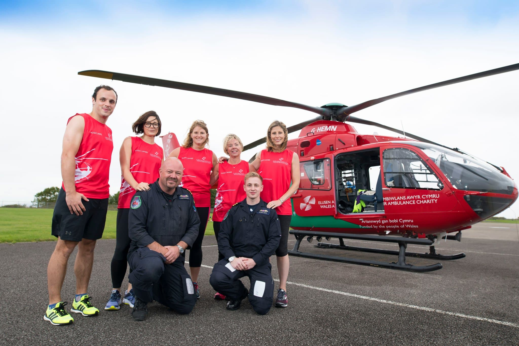 Hugh James Wales Air Ambulance