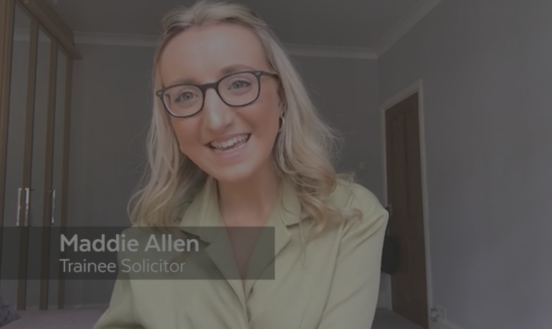 Trainee Talks | Maddie Allen
