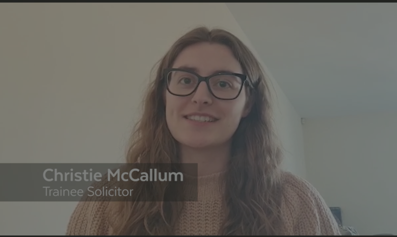 Trainee Talks | Christie McCallum