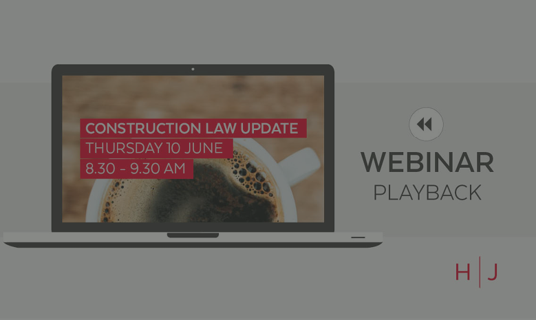 Construction Law Update 10.06.2021